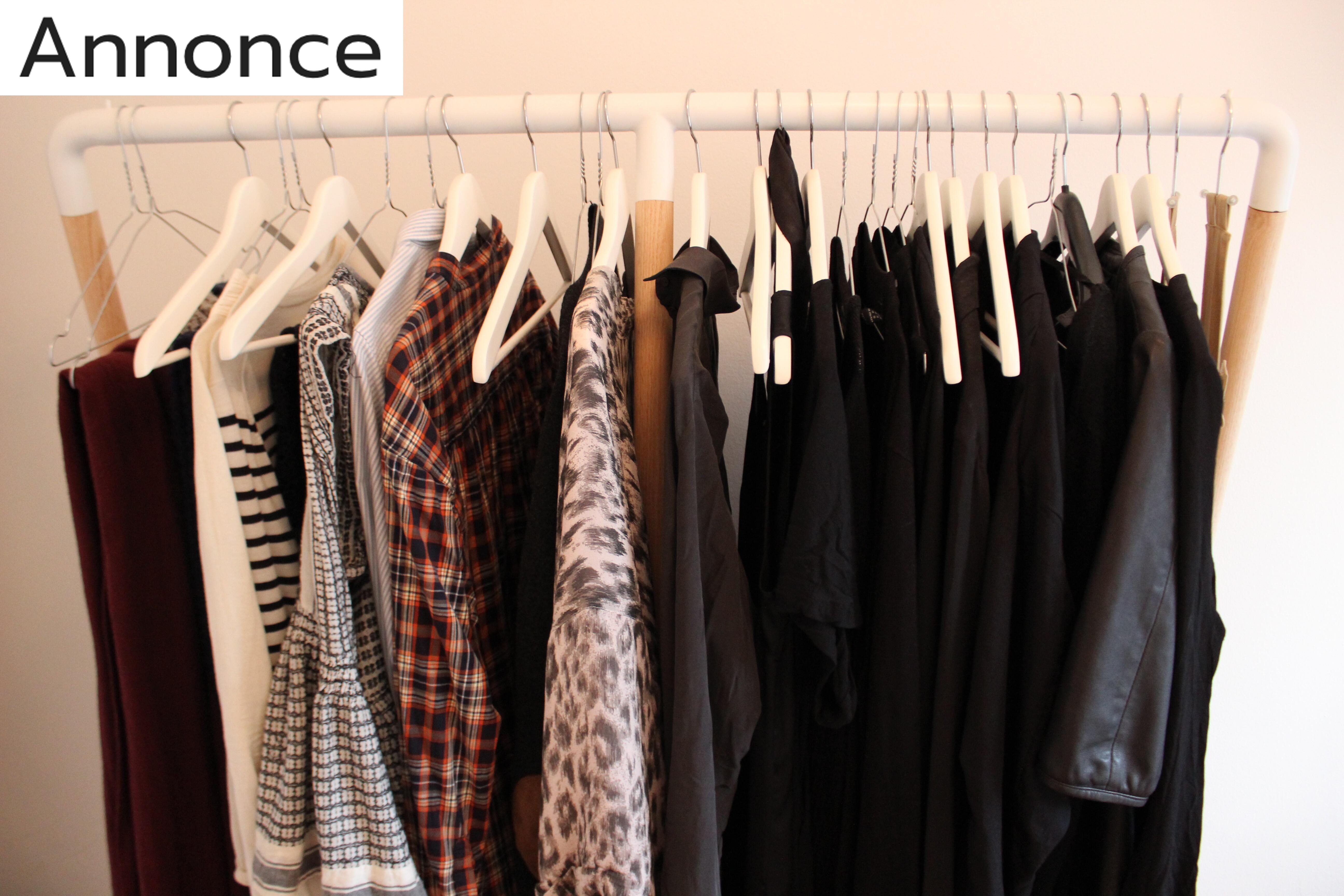 Sådan gør du din garderobe mere simpel