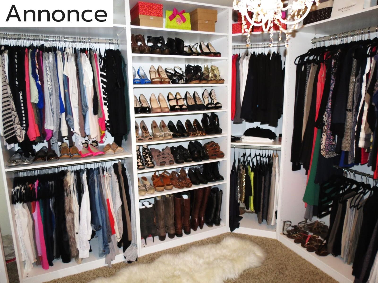 Gode ideer til dit nye garderobeskab