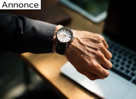 Find et smukt ur til at pynte på håndleddet