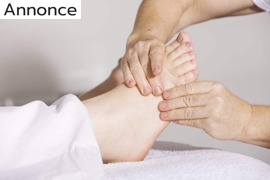 Forkæl dig selv med fodmassage