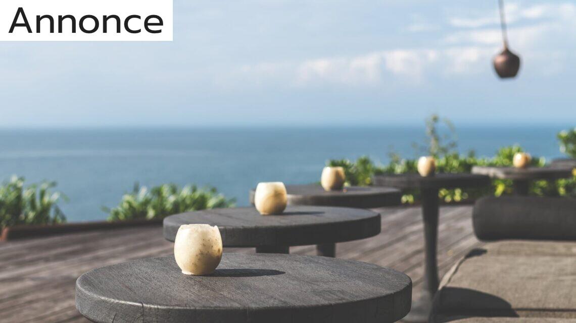 Sådan gør du terrassen flottere
