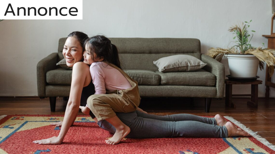 Indvendig fitness for dig og dine børn